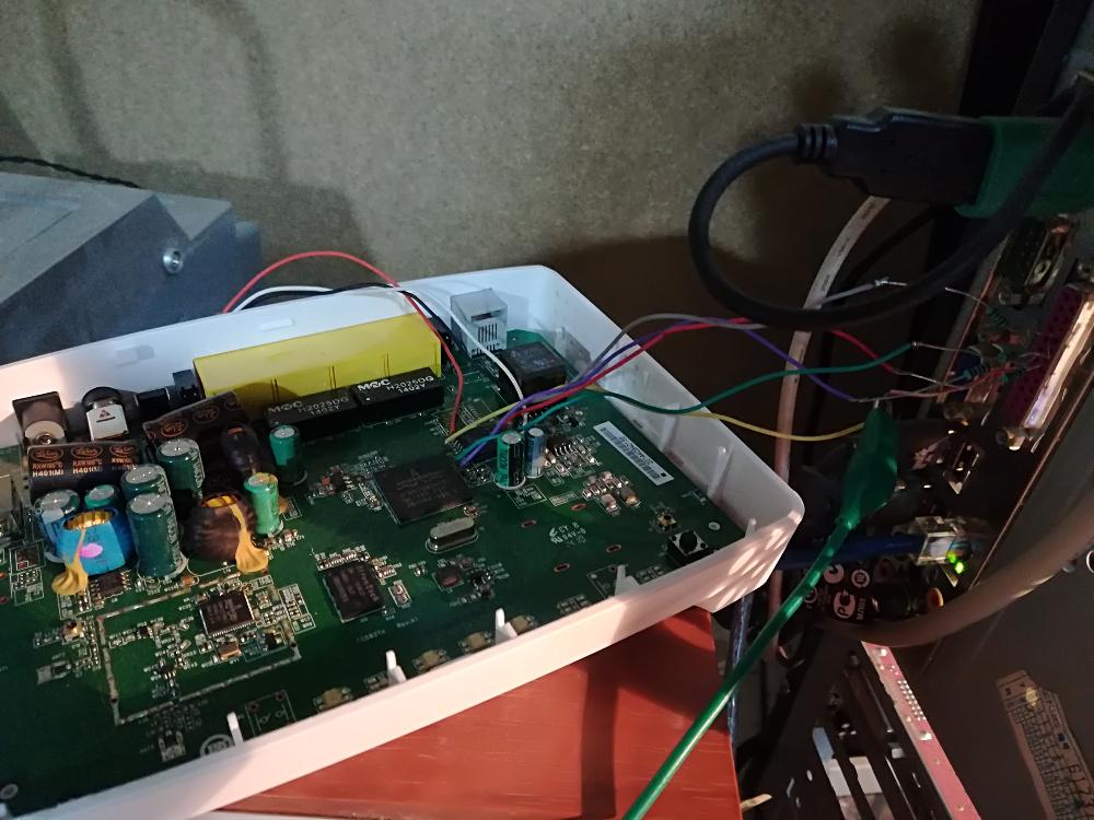 Connessione modem a porta LPT