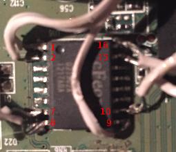 Numerazione pin memoria